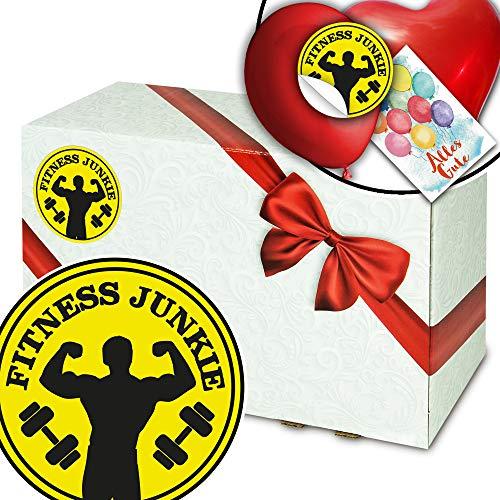 Fitness Junkie - Geschenkbox individuell - Geschenke für Fitnessfreaks