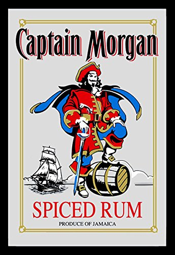 Close Up Captain Morgan Spiegel Spiced Rum