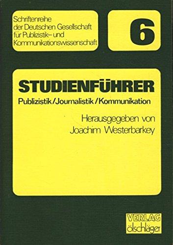 Studienführer Publizistik / Journalistik. (5961 300)