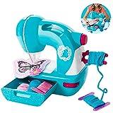 GT-LYD Los Niños Máquina De Coser, Eléctrico Pequeño Niños Máquina De Coser Inicio Juguetes Set para Principiantes Niños Niñas Niños Pequeños
