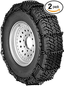 Security Chain Company QG2229 Quik Grip Light Truck LSH Tire Traction Chain - Set of 2: image