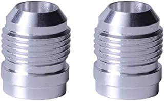 EVIL ENERGY 10AN Male Weld On Fitting Bung Hose Adapter Fuel Oil Aluminum Pack Of 2