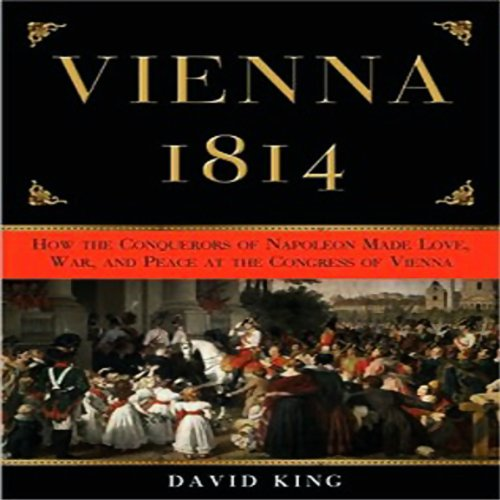 Vienna 1814 audiobook cover art