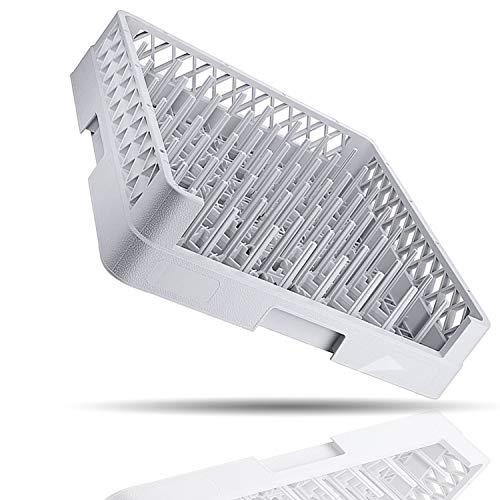 Gastronette Spülkorb Korb 64 Finger Teller Gläser Tassen Tabletts für die Gastronomie Spülmaschine Spülmaschinenkorb Universal aus Kunststoff 50x50 cm grobmaschig stapelbar Tablettkorb GN Norm