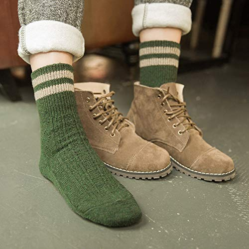 QWERGLL 5 Farben Mode Retro Frauen Socken Herbst Winter Wamer Baumwolle Mädchen Socken Weibliche Rohr Socke Studenten Strumpfwaren