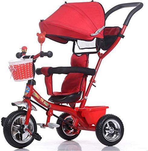 Ccgdgft Baby Trolley Kinderen driewieler kinderwagen/1-3-5 jaar oude baby kinderwagen Baby wandelwagen (kleur: B)