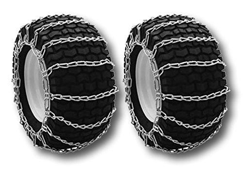 The ROP Shop Tire Chains 20x8x8, 20x8x10 for John Deere, Cub Cadet, MTD Snow Blowers & Lawn Tractors