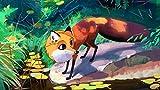 Puzzle de Madera de 1500 Piezas para Adultos, Animal zorro