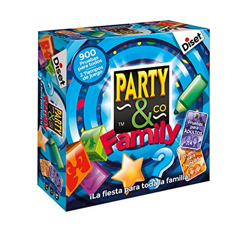 Diset - Party & Co Family - Juego de mesa familiar a...