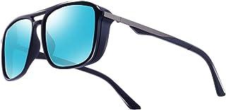Kimorn Polarized Sunglasses For Men Square Frame Unisex Outdoor Sports Goggle Classic K0623