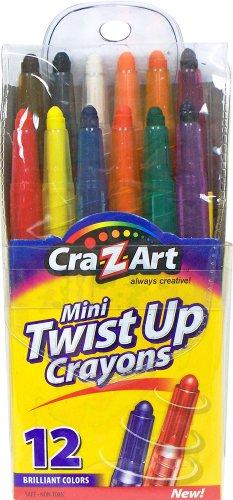Cra-Z-Art Mini Twist Up Crayons, 12 Count (10241)
