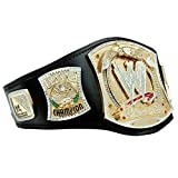 WWE Wrestling Championship Spinner réplica título cinturón de cuero placa de metal para adultos