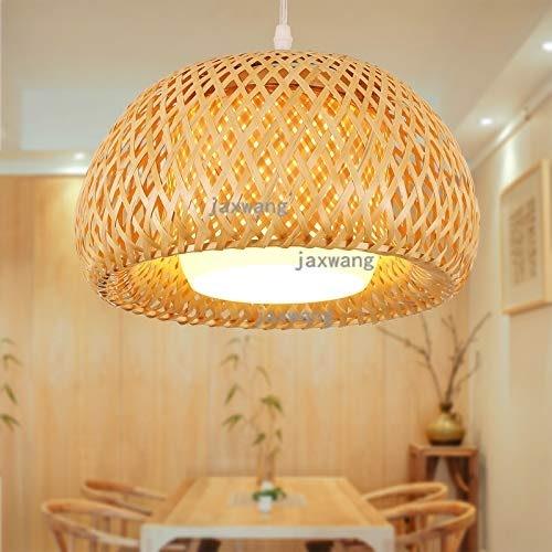 5151BuyWorld Lamp LED Lampes Suspendues Loft Bois Top Qualité De La Lumière Creative Living Pendentif Lumière Moderne Chambre Luminaires Luminaria Café Lumières Décoratives Suspendus {Dia 30cm}