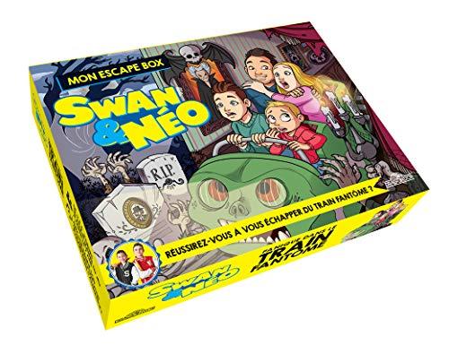 Swan & Néo - Mon escape box - Panique dans le train fantôme - Escape game enfants - De 2 à 6...