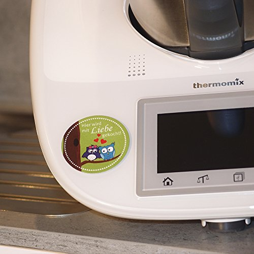 2in1 Thermomix Deko-Sticker/Aufkleber & Display-Cleaner
