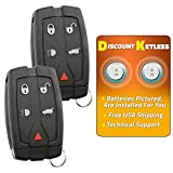 Discount Keyless Entry Remote Control Car Key Fob Clicker For LR-2 NT8-TX9 (2 Pack)
