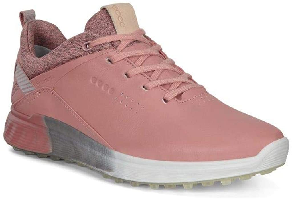 ECCO Women's S-Three Golf 70% OFF High quality new Outlet Shoe Gore-tex