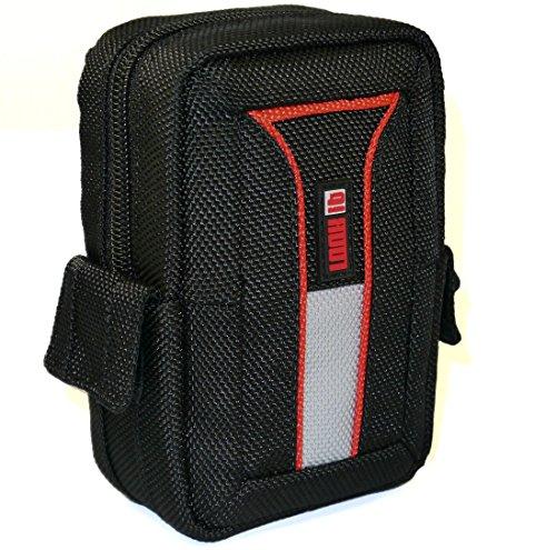 LOOKit Premium Tasche U2- L für Panasonic Lumix DC TZ96 TZ91 TZ81 TZ71, Sony HX80, Canon SX620 SX720 / TZ60 / TZ61, Sony DSC-RX100 V …