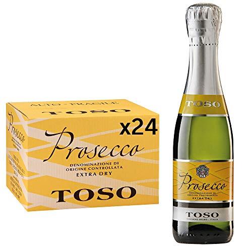 Toso S.p.a Toso Prosecco Spumante DOC Extra Dry, 24 bottiglie, 24 x 200ml