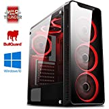 Vibox Kaleidos SA4-71 Gaming PC Ordenador de sobremesa con 2 Juegos Gratis, Windows 10 OS (3,8GHz AMD A6 Dual-Core Procesador, Radeon R5 Gráficos Chip, 16GB DDR4 2400MHz RAM, 1TB HDD)