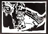 Póster League of Legends Draven LOL Grafiti Hecho a Mano - Handmade Street Art - Artwork