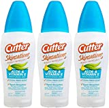 Cutter Skinsations Insect Repellent 7.5oz Pump Spray 7% DEET Bonus Size (3-Pack)