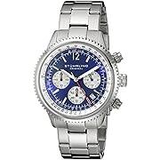 Stuhrling Original Men's 669B.02 Monaco Stainless Steel Bracelet Watch