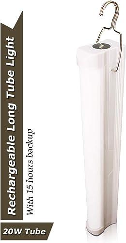 Pick Ur Needs Rocklight AC/DC 20 Watt Rechargeable Emergency LED Light Tube (White)