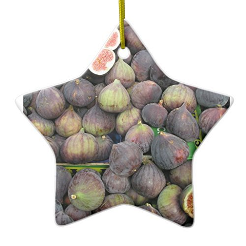 WSMBDXHJ Figs Star Christmas Ornaments Novelty Christmas Tree Hanging Decoration