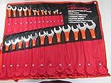 Neilsen CT0126 6. Juego de llaves combinadas de 32mm. Color rojo (25piezas)