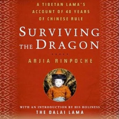 Surviving the Dragon audiobook cover art