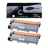 TonerPlusUSA Compatible TN630 TN660 Toner Cartridge TN-630 TN-660 High Yield Toner Cartridge Replacement for Brother Laser Printer – Black [2 Pack]