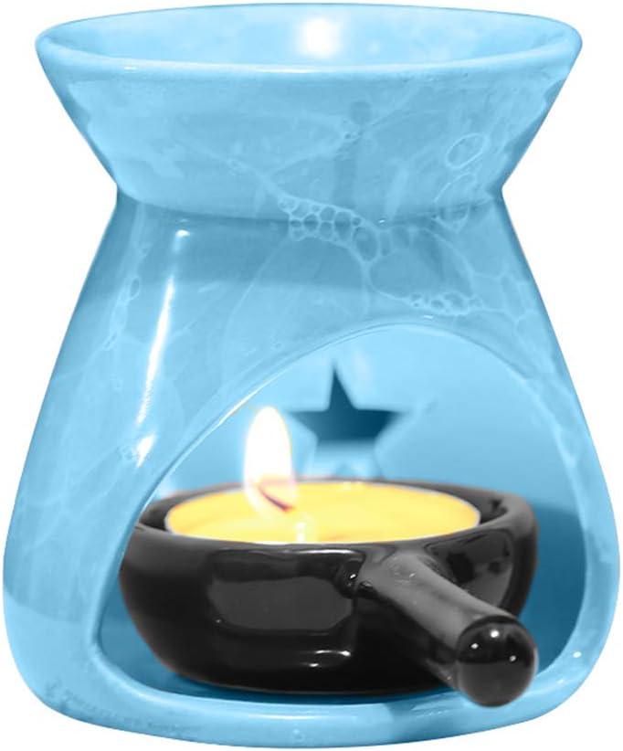 HuiSiFang Ceramic Houston Mall Wax Melt Burners Oil Burn Max 84% OFF Burner