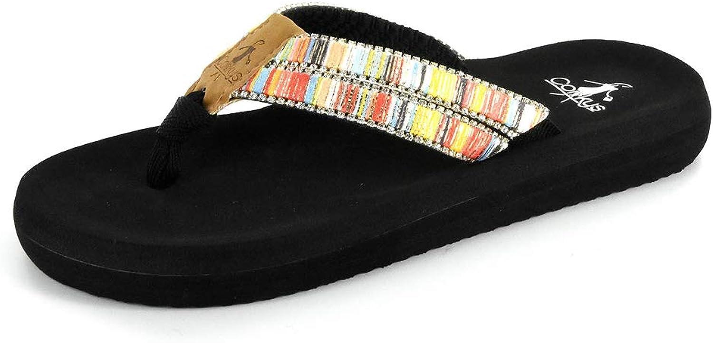 Corkys Women's Dingo Flip-Flop Sandals