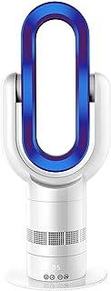 Seasoncool Inteligente Abs Sin Hojas Calefactor Ventilador 1800 W Frío y Calor Calefactor Eléctrico Calefactor Eléctrico Enfriamiento/Calefacción Azul Doble