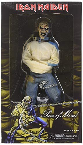 Neca Iron Maiden Figurine Retro Eddie Piece Of Mind