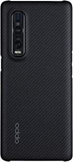 OPPO Case for OPPO Find X2 Pro Case - Strong Solid Aramid Fiber Hard Back Cover - Black