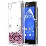 LeYi Sony Xperia Z3 Case with Screen Protector, Girl Women