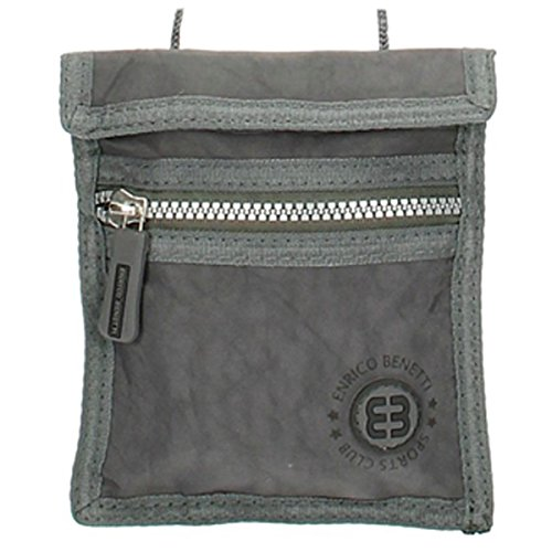 Necklace / wallet 'enrico benetti' gray - 16x14 cm (6.30''x5.51'').
