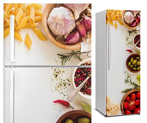DON LETRA Vinilos para Neveras y Frigoríficos, 185x60cm, Decoración para Cocina, Impermeable
