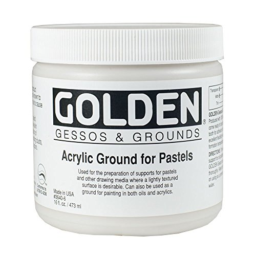 Golden Artist Colors - Acrylic Ground for Pastels 16oz. (473 ml) jar