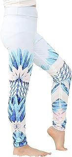 Yying Mädchen Legging Drucken Sporthosen Elastizität Läss