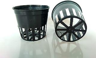 kit Vaso plástico cestinha preta 7 com 30 unidades