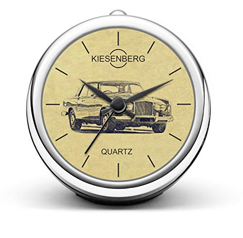 KIESENBERG Design Tischuhr Geschenke für Bentley Corniche Fan Uhr T-4109