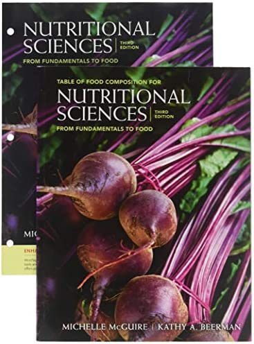 Bundle Nutritional Sciences From Fundamentals to Food Loose leaf Version with Table of Food product image