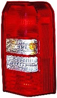 Go-Parts OE Replacement for 2007 Jeep Patriot Rear Tail Light Lamp Assembly / Lens / Cover - Right (Passenger) Side 5116238AC CH2801170 Replacement For Jeep Patriot
