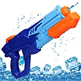 MOZOOSON Water Gun Toy for Kids, Powerful Water Pistol with 750ML Moisture Capacity