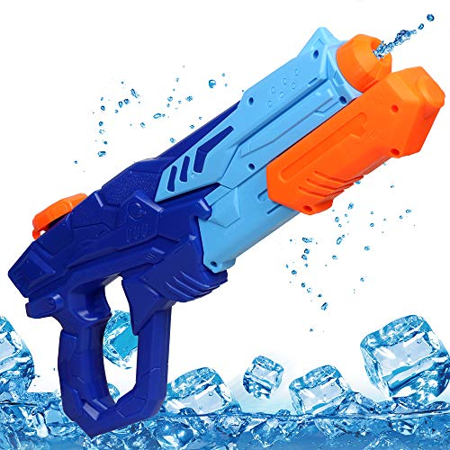 MOZOOSON Water Gun Toy for Kids, Powerful Water Pistol with...