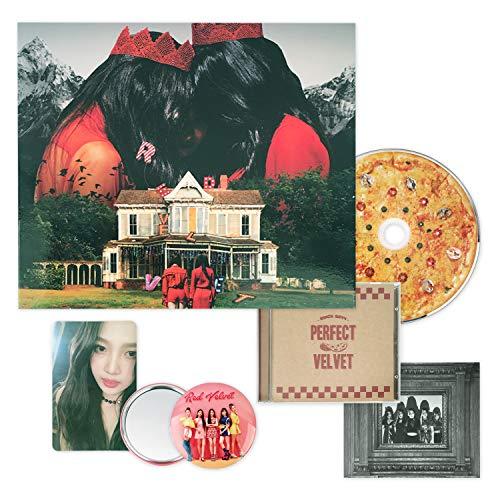 RED VELVET 2nd Album - [ PERFECT VELVET ] CD + PhotoBook + PhotoCard + FREE GIFT / K-POP Sealed