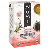 Numi Organic Tea Jasmine Green, 18 Count (Pack of 3) Box of Tea Bags...